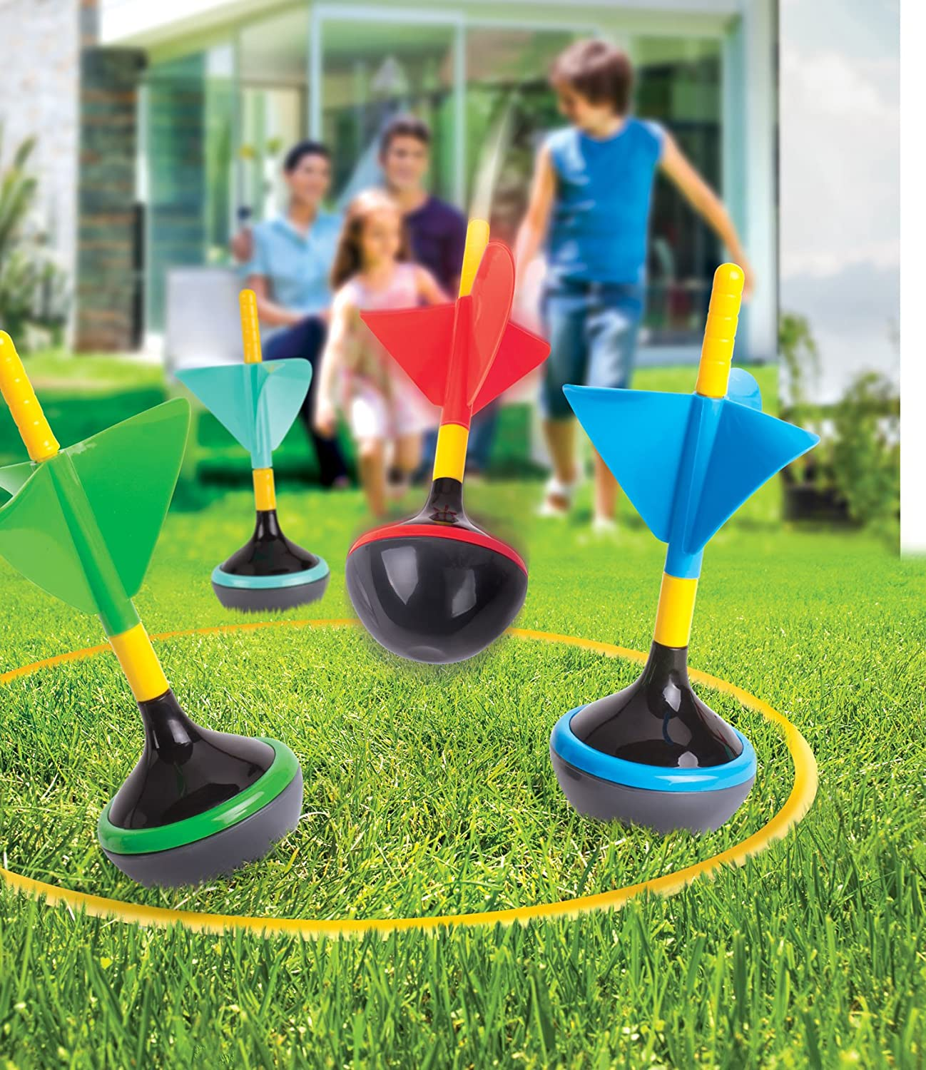 Amazon Outdoor Backyard Lawn Darts Game for Kids Children