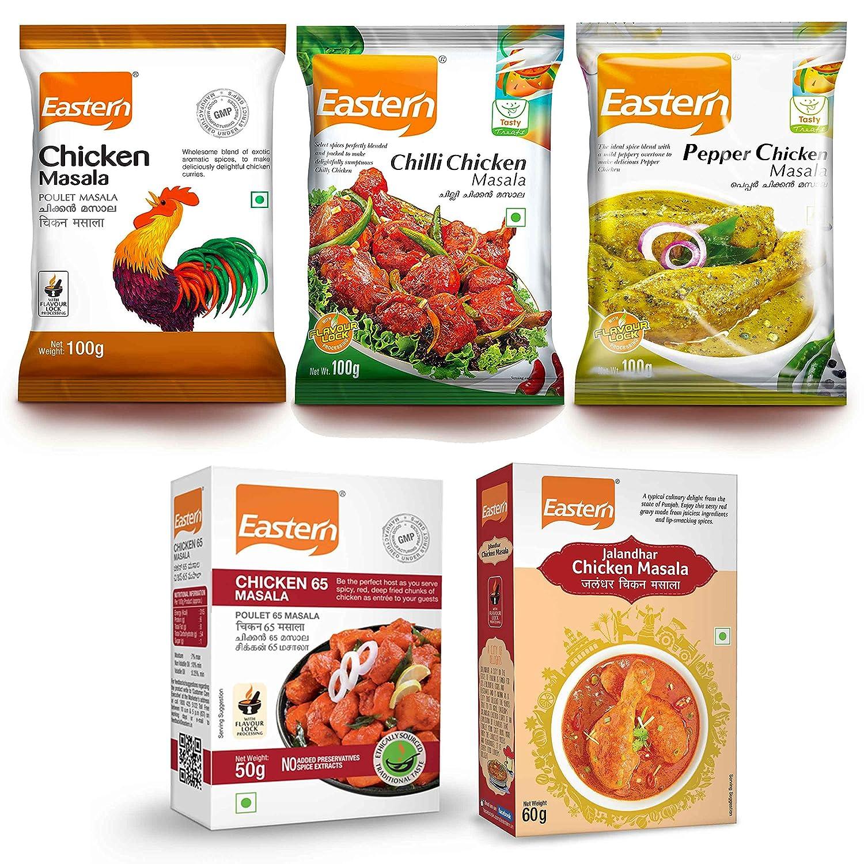 Eastern Non-Vegetarian Masala Combo - Pack Of 5
