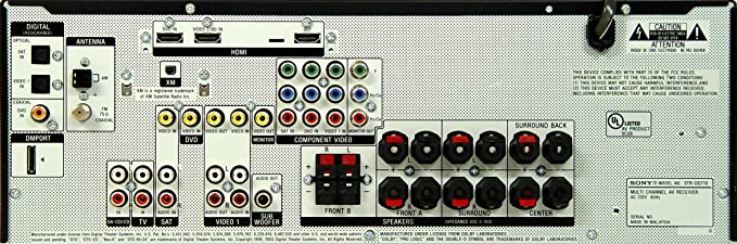 sony str dg710 av receiver 6 1 channel black amazon co uk hi rh amazon co uk sony str-dg710 setup STR-DG710 Review