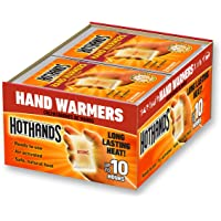 $23 » Hand Warmers - Long Lasting Safe Natural Odorless Air Activated Warmers - Up to 10…