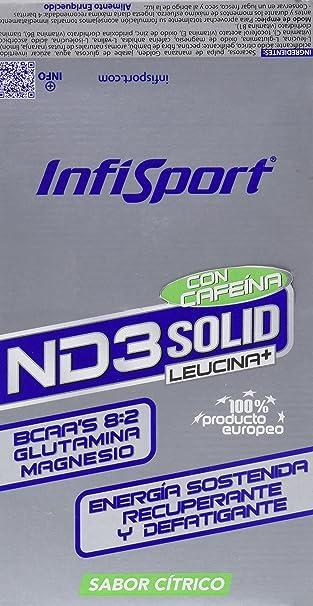 Infisport ND3 Bar de Cítrico y Cafeína - 21 Unidades