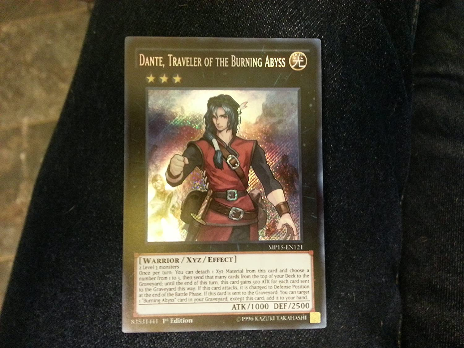 NEW Traveler of the Burning Abyss LEHD-ENC39 1st Edition YuGiOh Dante