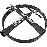 Bodymondo® Springseil, Perfekt Für Ausdauer, Abnehmen, Sport, Fitness, Training, Workout, Freeletics, Crossfit, Schwarz