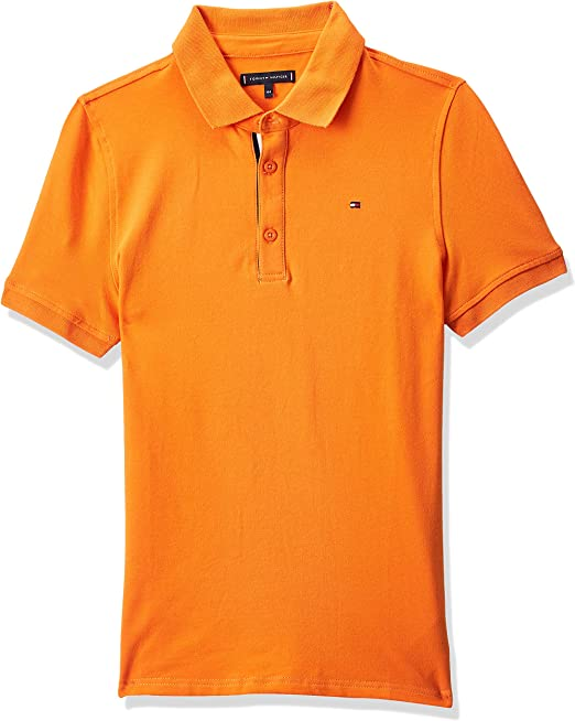 Tommy Hilfiger Essential Slim Polo S/S Niños: Amazon.es: Ropa y ...