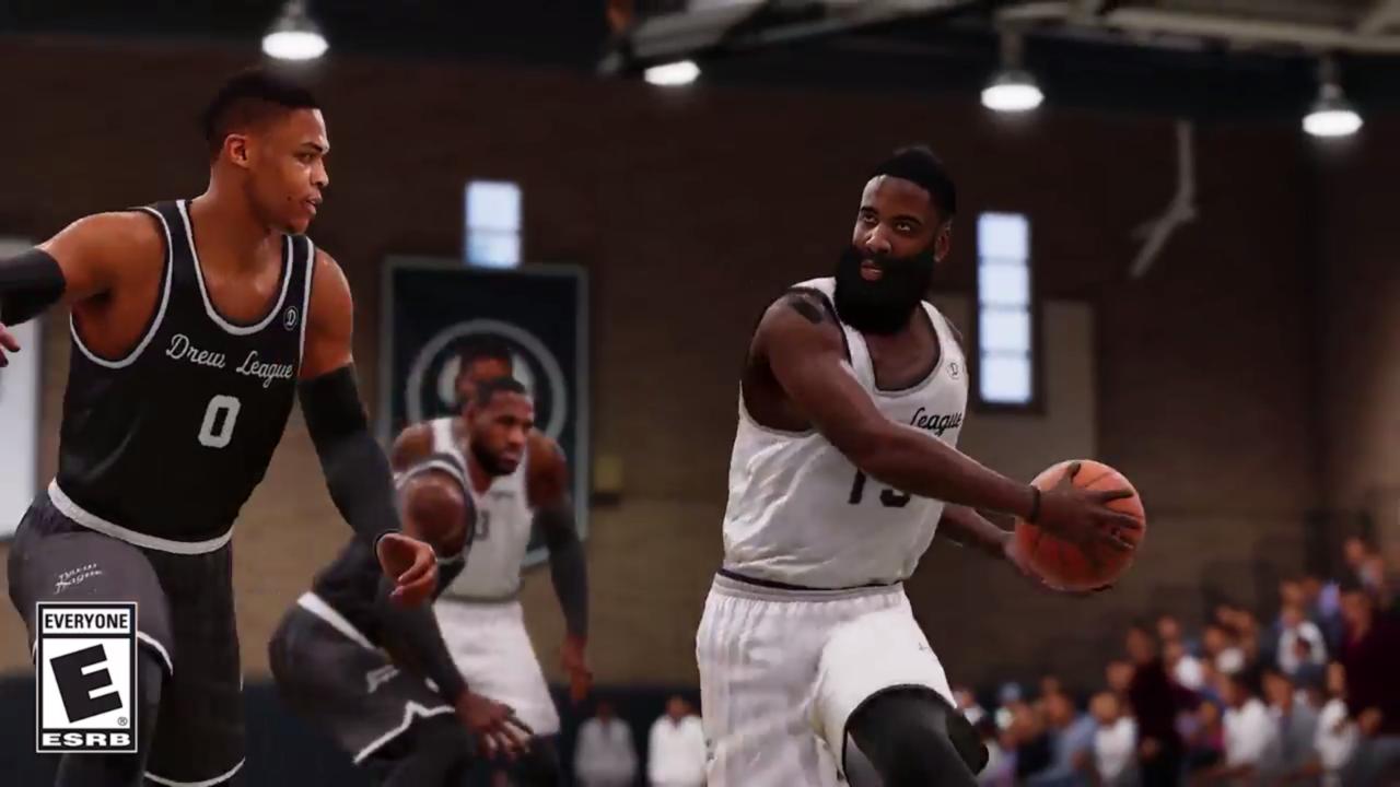 ecdb4615052 NBA Live 18 - Cover Athlete James Harden