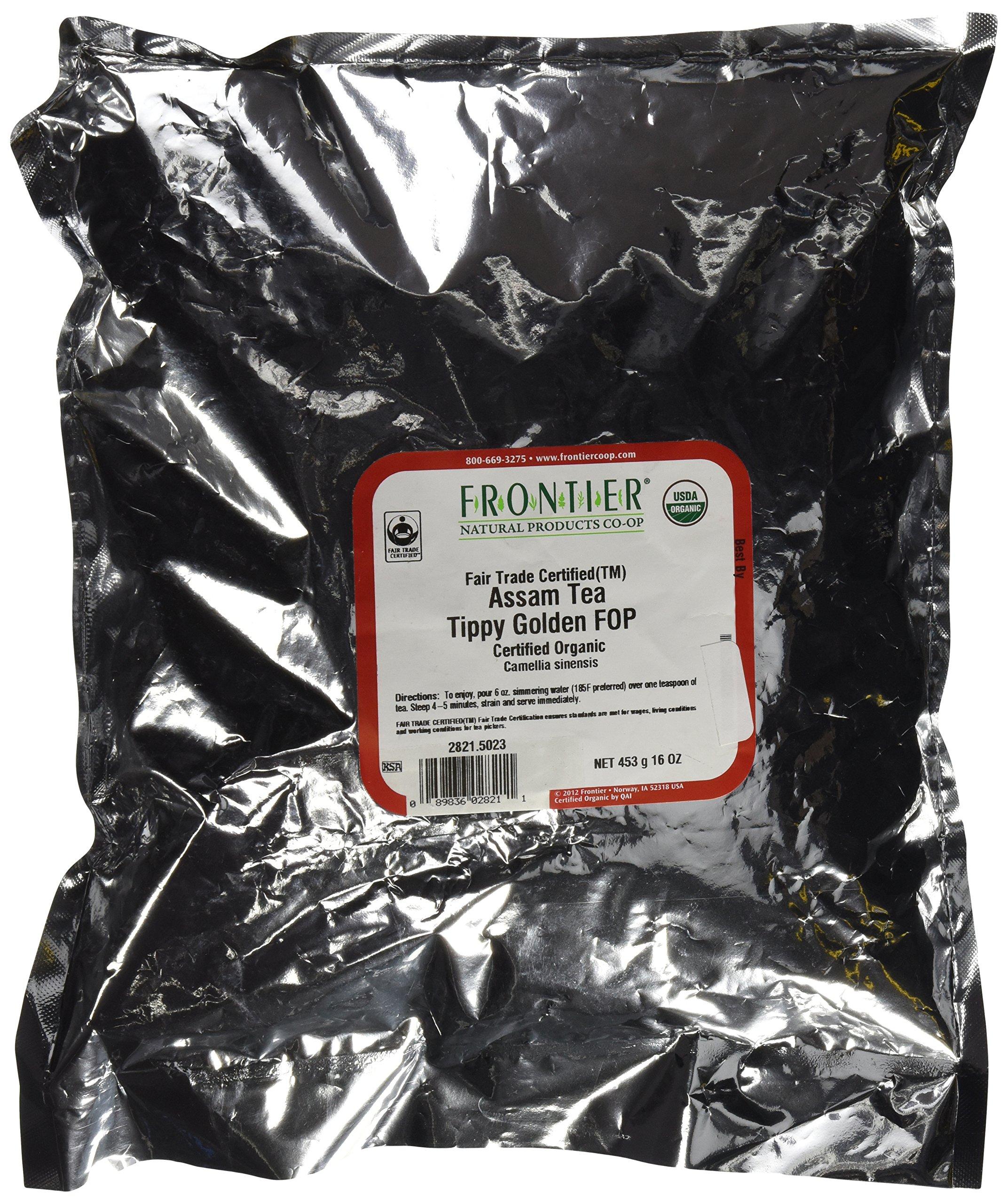Assam Organic & Fair Trade - 1 lb,(Frontier)