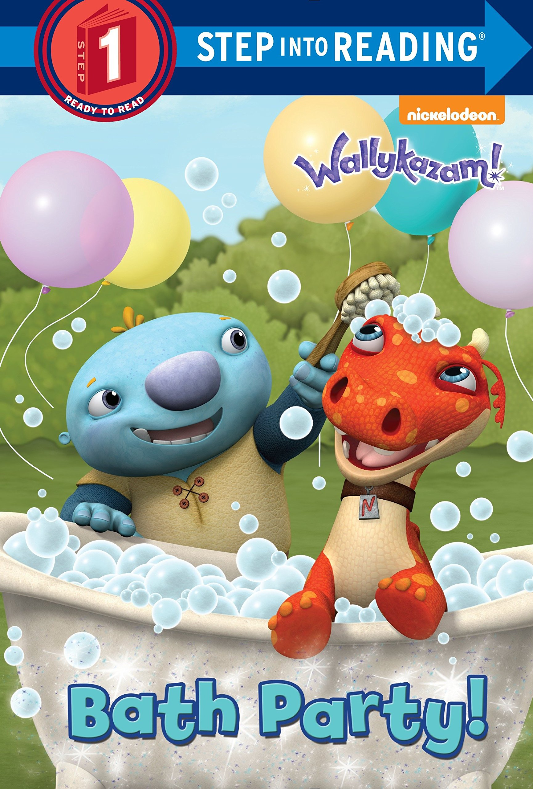 Download Bath Party! (Wallykazam!) (Step into Reading) ebook