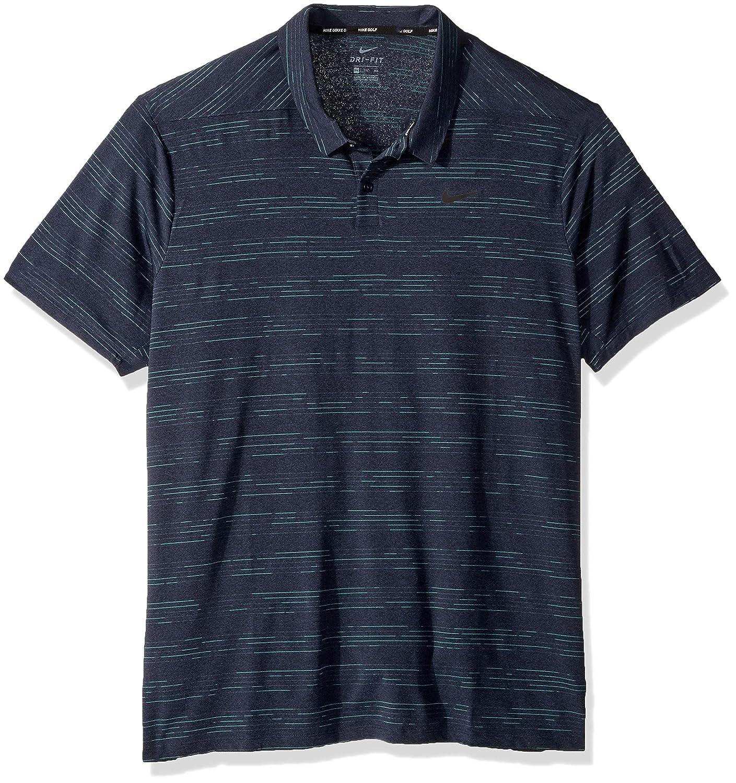 Noir (noir Obsidean 451) XL Nike Polo pour Homme