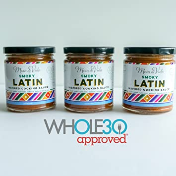 Smoky Latin Healthy Cooking Sauce 3 Pack - Whole30 Approved | Vegan | Paleo | Heart