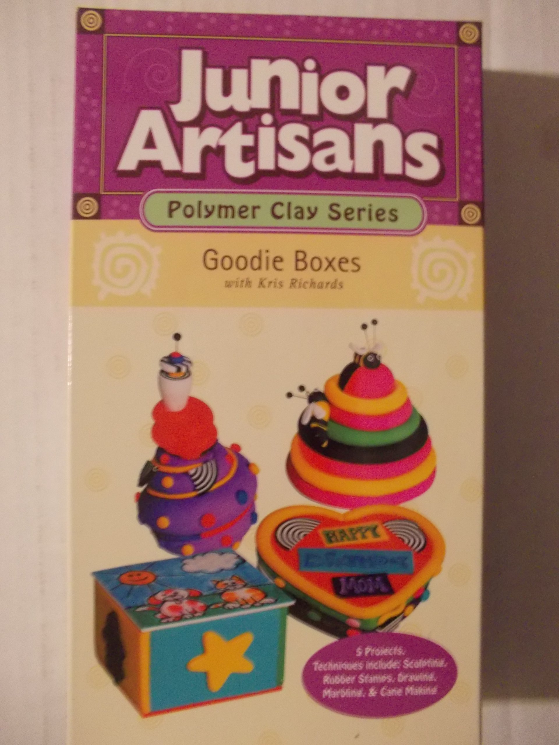 Junior Artisans (Polymer Clay Series): Goodie Boxes [VHS]