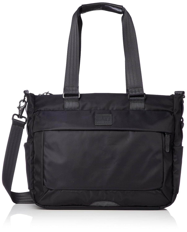 [ブラックレーベル]2WAYトートバッグ 公式 BELT PKWY TWILL TOTE BAG B07B7Z8DRTブラック