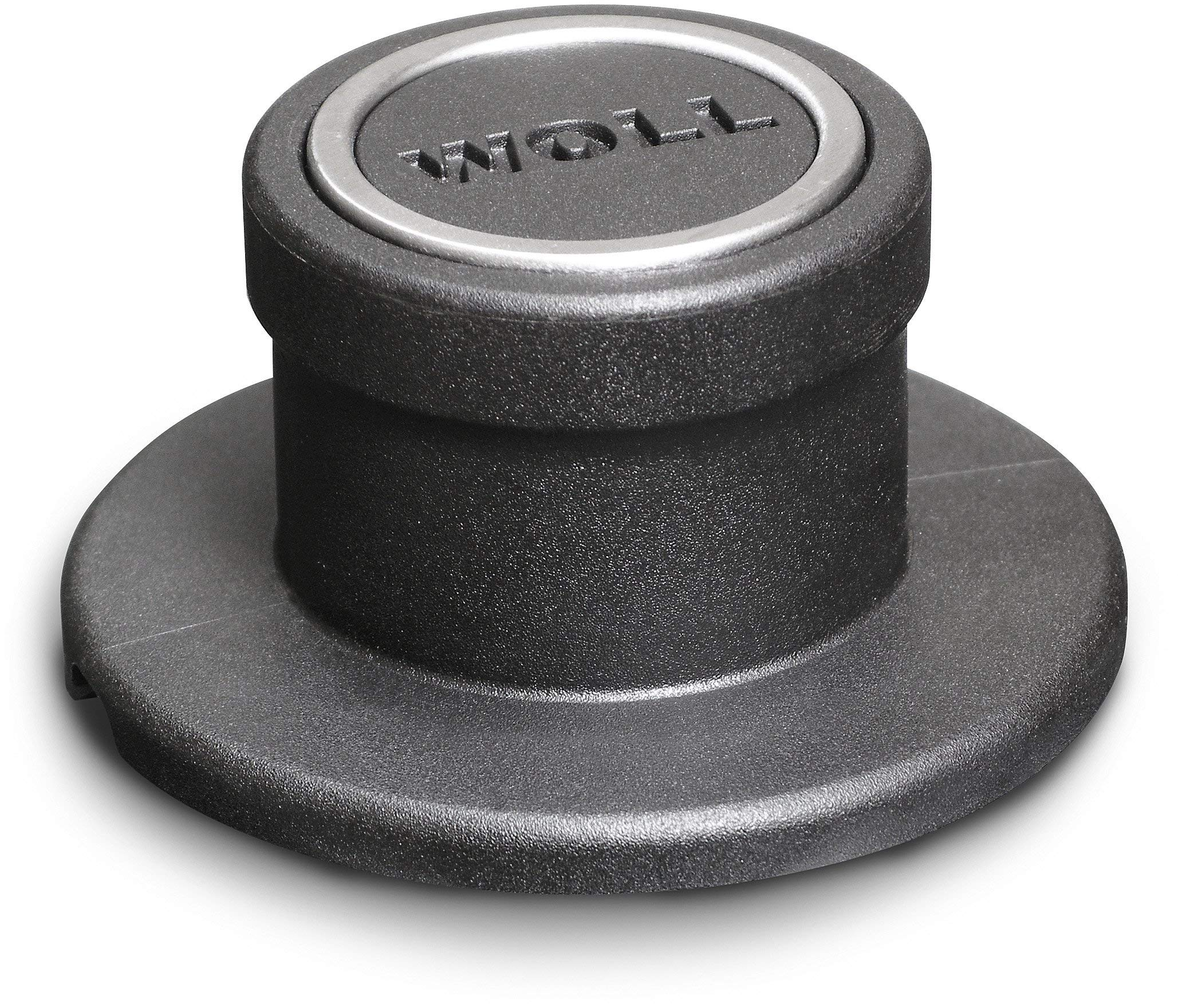 Woll Tempered Glass with Stainless Steel Rim and Vented Knob Round Lid, 8'', Clear by Woll (Image #3)