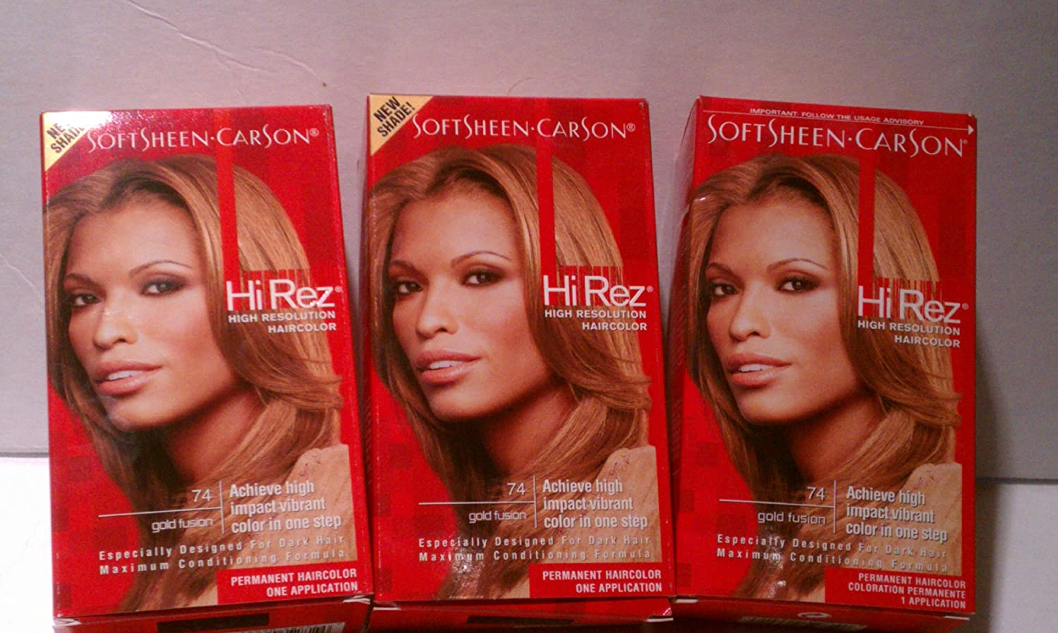 Amazon Soft Sheen Carson Hi Rez Gold Fusion Pack Of 5