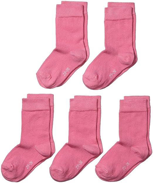My Way MyWay kids socks basic 5er - Calcetines para niñas: Amazon.es: Ropa y accesorios