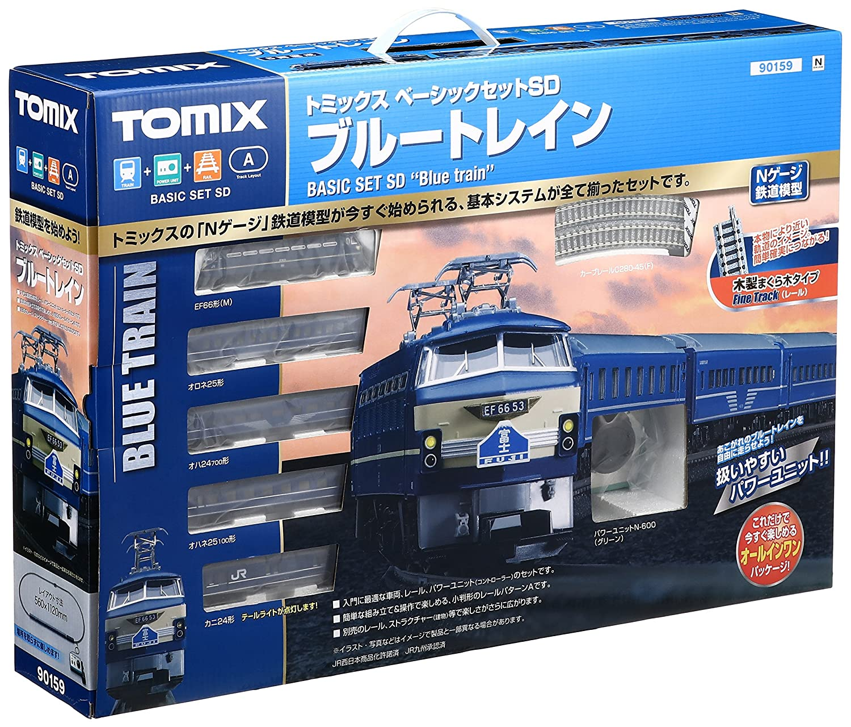 TOMIX Nゲージ ベーシックセットSD ブルートレインIII 90159 鉄道模型 入門セット B005U9Y7IM