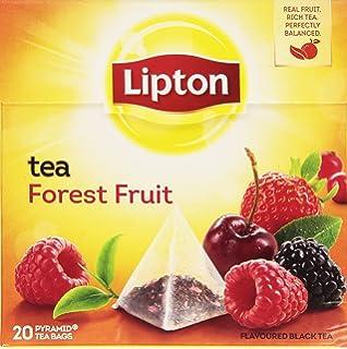 Lipton - Té Frutas Del Bosque, 20 x 1.7 gr - [Pack de 12