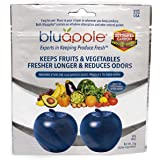 Bluapple Produce Freshness Saver Balls With Carbon - Extend Life Of Fruits And Vegetables by Absorbing Ethylene Gas - Keeps P