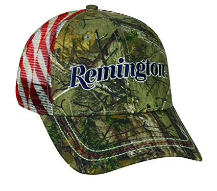 33fd7433427e8 Amazon.com   Remington Americana Mesh Back Cap