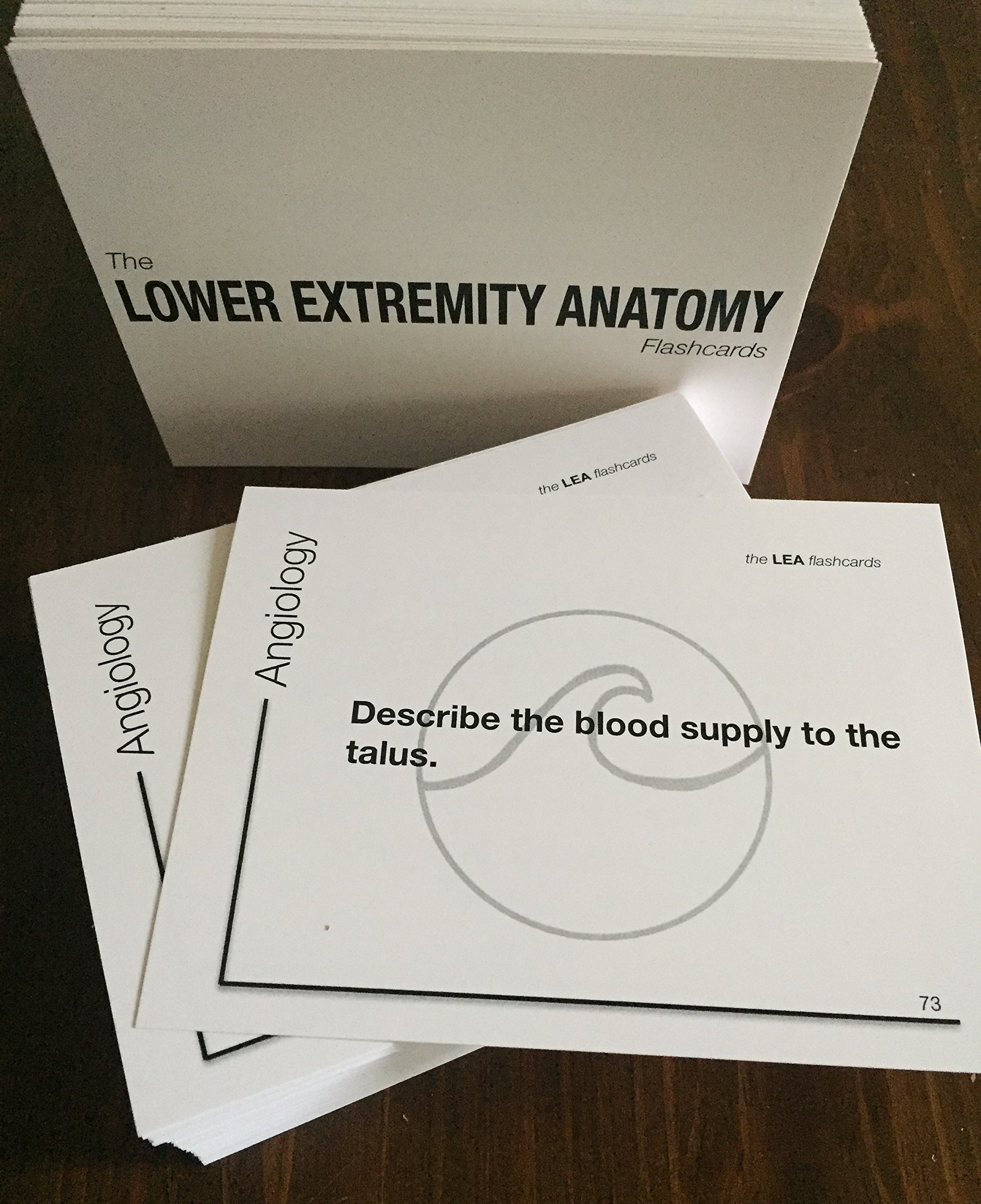 The LOWER EXTREMITY ANATOMY Flashcards: Team SamJam: 9780692847060 ...
