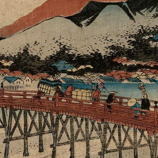 Wallpaper Tokaido 54 (54 Wallpaper)