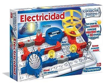 Clementoni - Circuito eléctrico con Elementos modulares (55138.5): Amazon.es: Juguetes y juegos