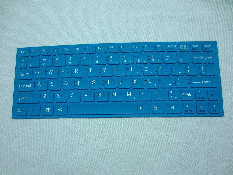 keyboard skin cover protector for SONY VAIO YA YB VPC-YA VPC-YB laptops green