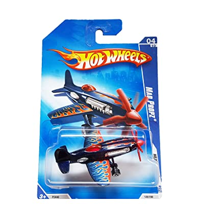 Hot Wheels 2009 Mad Propz Heat Fleet 120/190 Plane by Mattel: Toys & Games