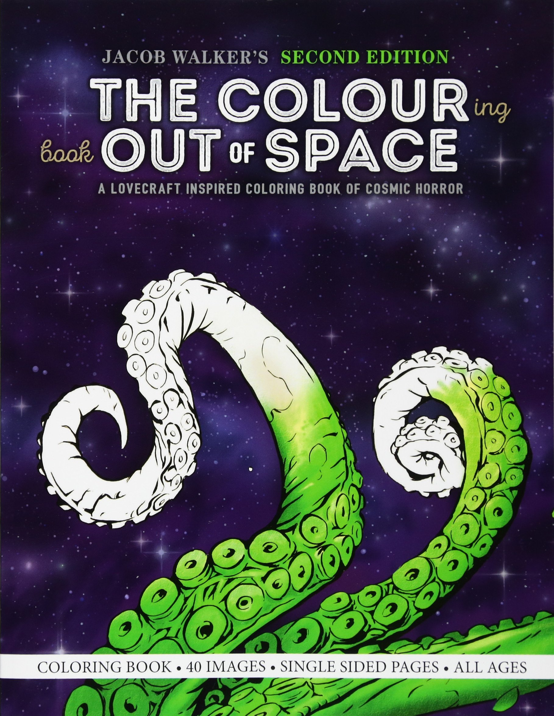 Amazon.com: The Colouring Book Out of Space: A Lovecraft Inspired ...