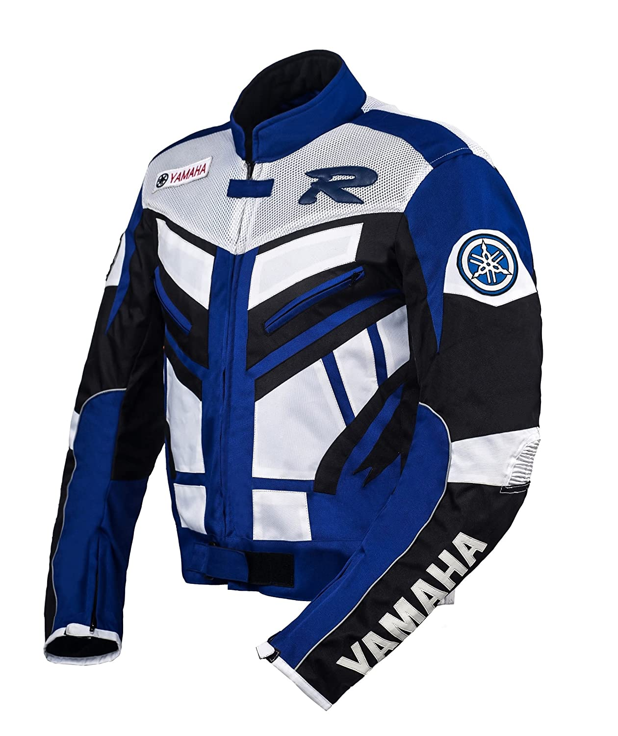 Yamaha Blue Racing Textile Jacket (M (EU50))