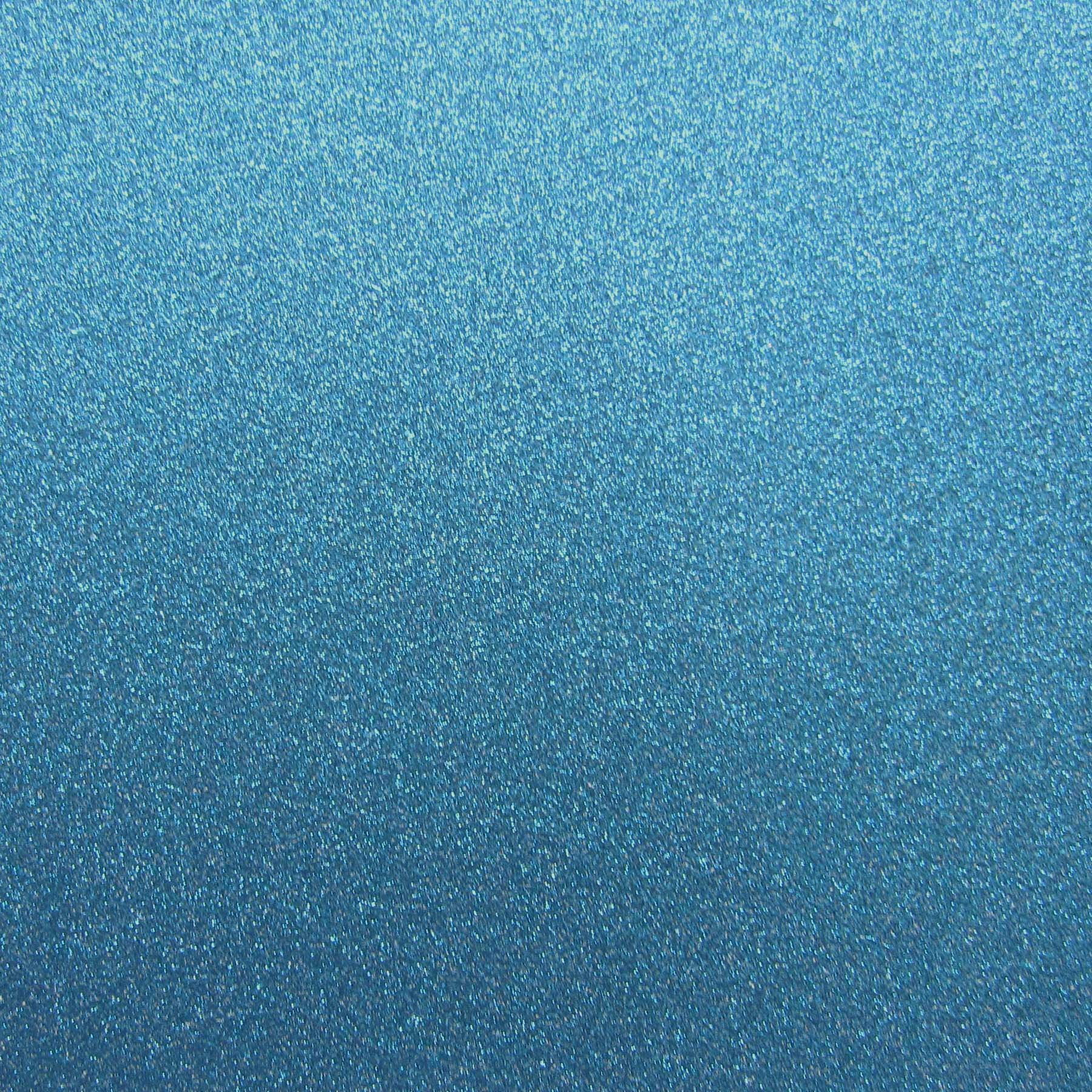 Best Creation 12-Inch by 12-Inch Glitter Cardstock, Peacock Blue