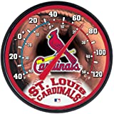 """MLB St. Louis Cardinals Thermometer, 12"""" x"""