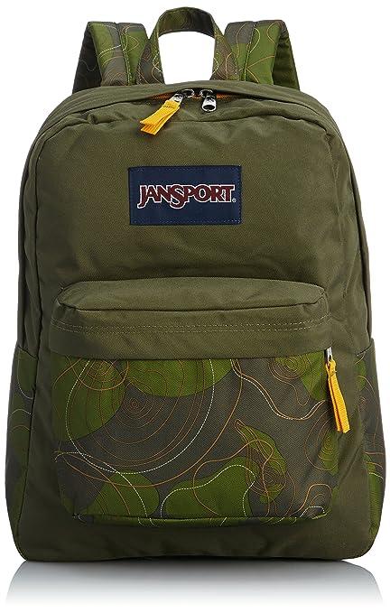 Amazon.com: JanSport Superbreak – Mochila, color verde ...