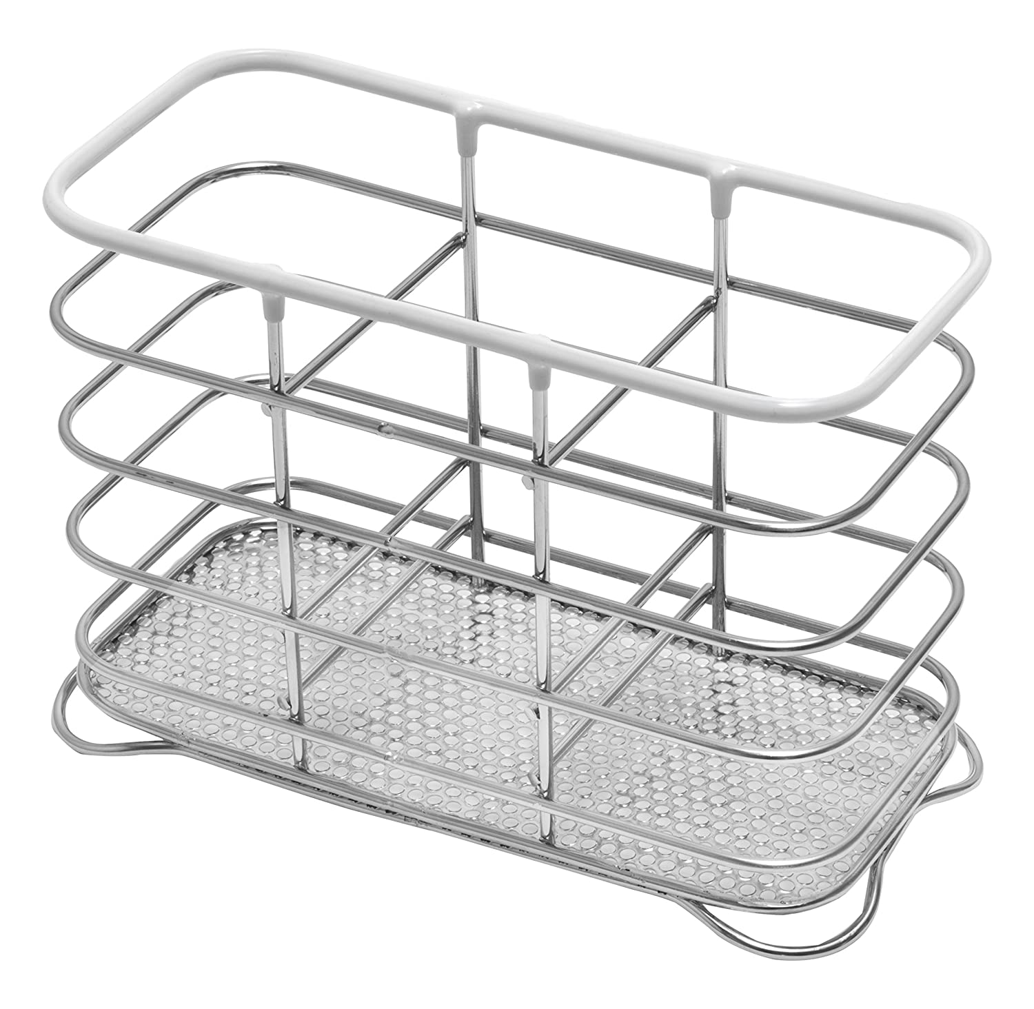 Addis Wire Cutlery Holder, Chrome Black 517433
