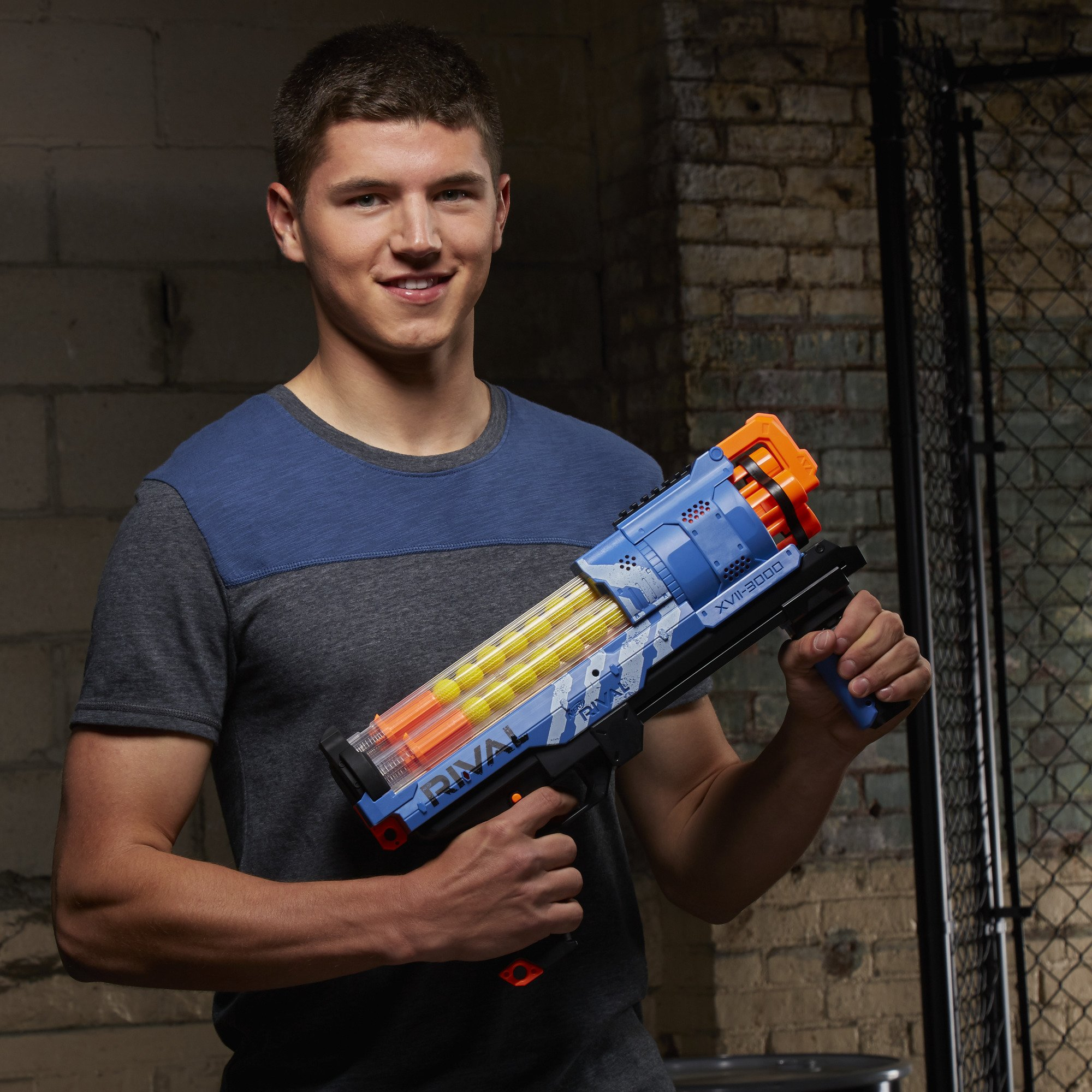 NERF Rival Artemis XVII-3000 Blue by NERF (Image #3)