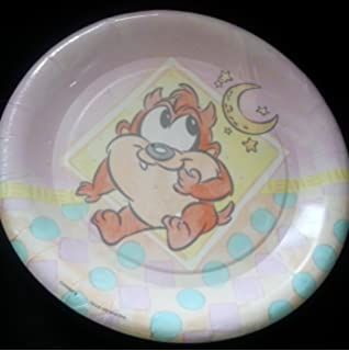 Looney Tunes Baby Taz Shower Birthday Plates Lunch Decoration