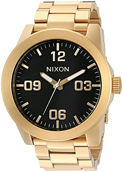 Nixon Corporal Reloj de Acero Inoxidable para Hombre