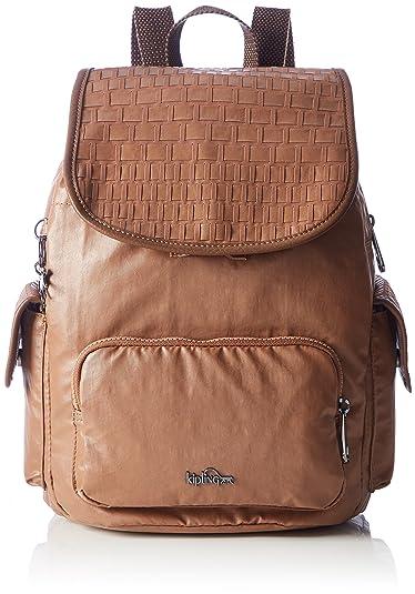 2ee2f71cf404 Amazon.com  Kipling CITY PACK S Tan Weave  Shoes