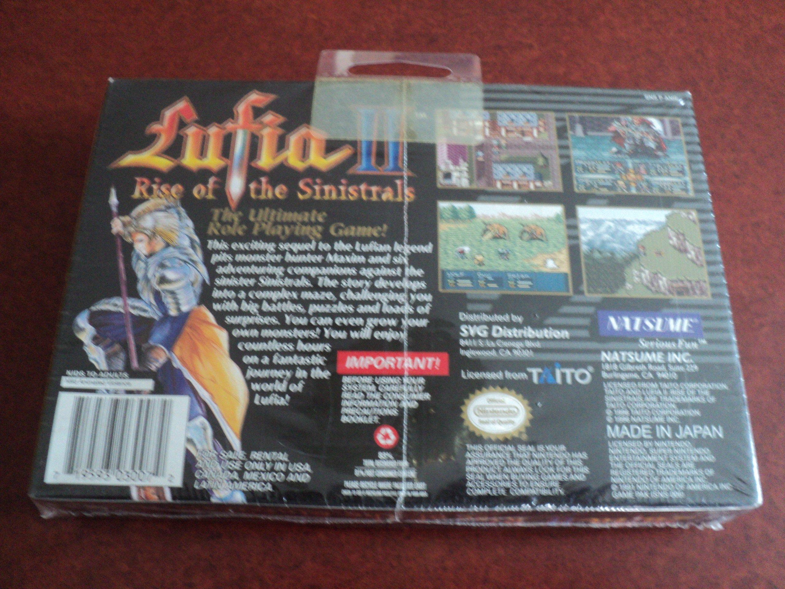 Amazon com: Lufia II: Rise of the Sinistrals: Video Games