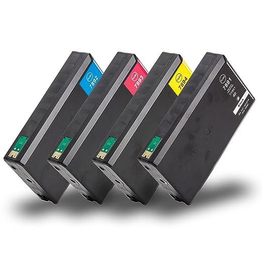 23 opinioni per Multipack 4 Cartucce di inchiostro compatibile con Epson T7891-T7894 con CHIP