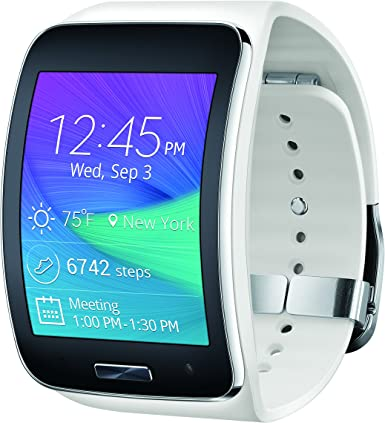 Amazon.com: Reloj inteligente Samsung Gear S, Blanco
