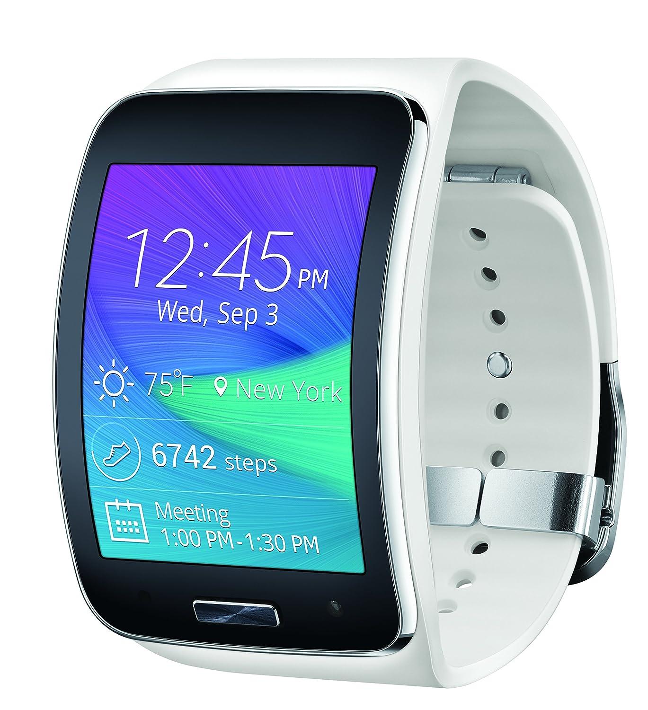 Samsung Gear S Smartwatch, White 4GB (Verizon Wireless)