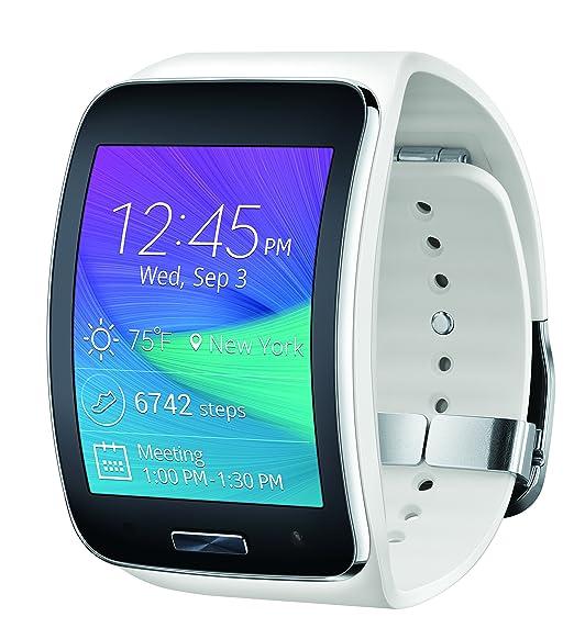 Samsung Gear S Smartwatch, White 4GB (AT&T)