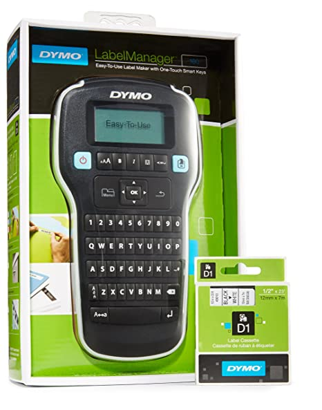 Dymo Labelmanager 200 Label Manager Maker Electronic Labelmaker Manual Cartridge Label Making
