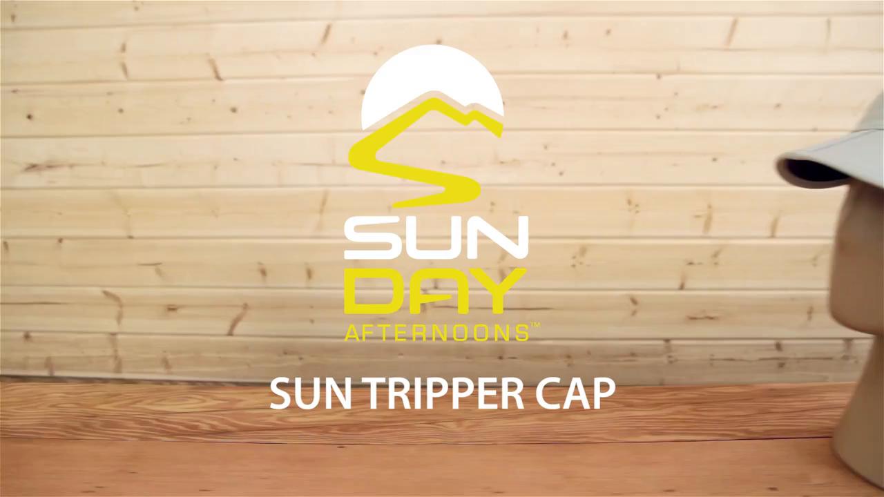 654d12b7 Sunday Afternoons Sun Tripper Cap, Black, Medium