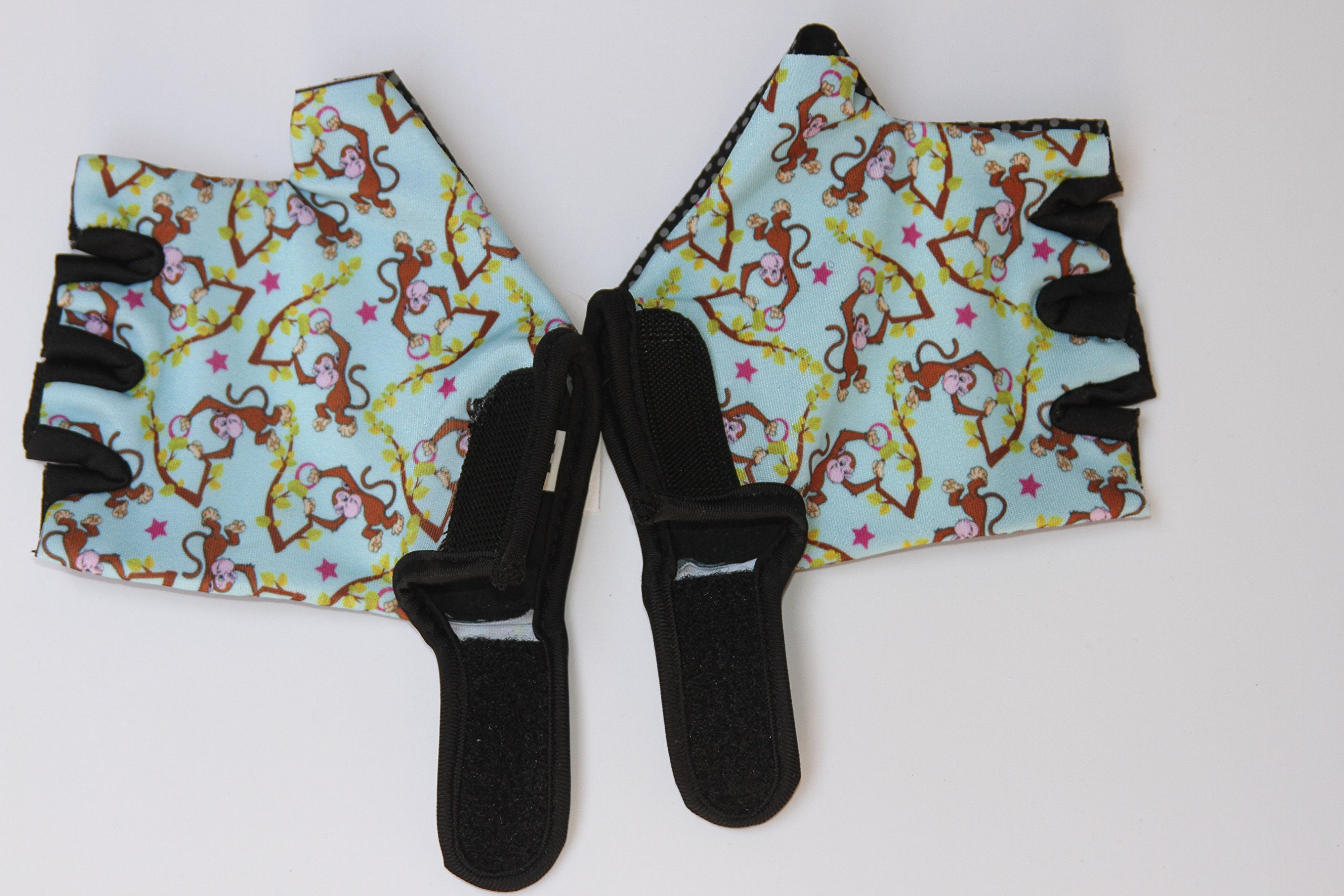 Monkey Bars Gloves with Grip Control (for 5 and 6 Years Old Children)