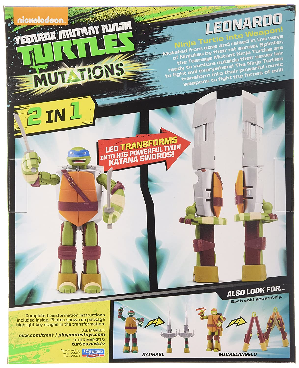 Amazon.com: Teenage Mutant Ninja Turtles Turtle para arma ...