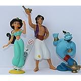 Bullyland Disneys Aladdin Dschinni und Jasmin - Set 3 Figuren