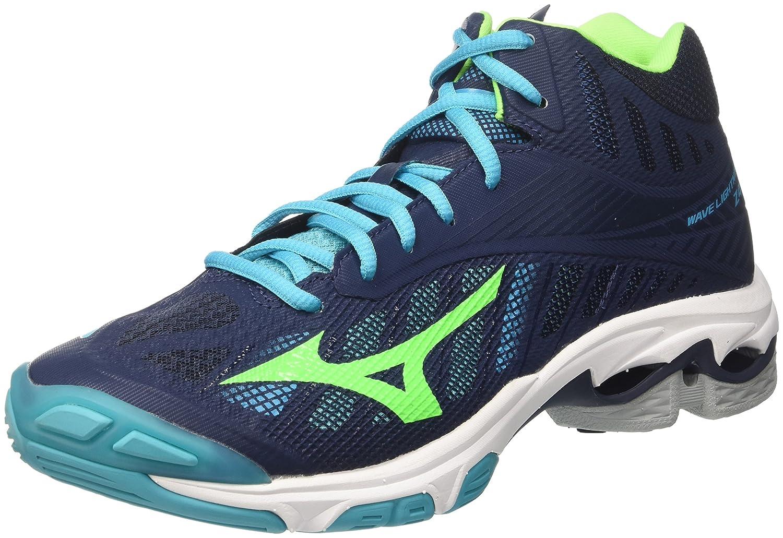 Mizuno Wave Lightning Z4 Mid, Zapatillas de Running para Hombre 42 EU|Multicolor (Dressblues/Greengecko/Peacockblue 36)