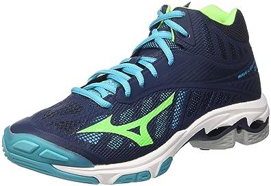 60c42fcb0 ... coupon for mizuno wave lightning z4 mid scarpe da pallavolo uomo blu  dressblues greengecko e04e7 516fe