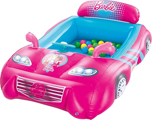 Amazon.es: Piscina de Bolas Hinchable Bestway Barbie Coche ...
